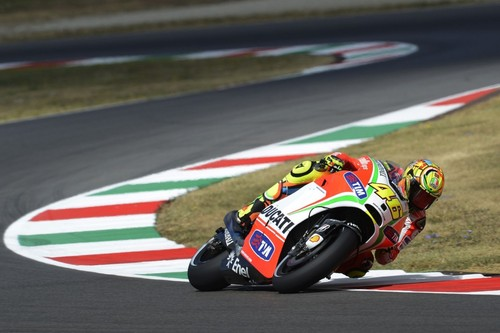 In chicane (Mugello)