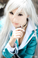 Inner Moka Cosplay - rosario-vampire fan art