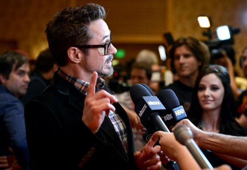 Iron Man 3 at San Diego Comic-Con - robert-downey-jr Photo