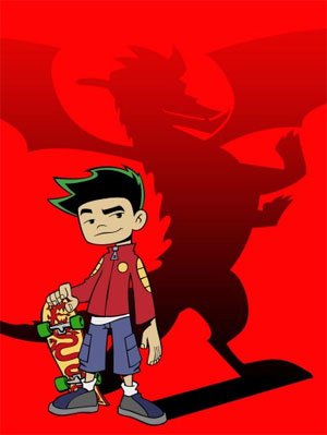 American Dragon: Jake Long achtergrond containing anime titled JakeTheAmDrag