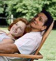 Janeway and Chakotay back in the Alpha quadrant