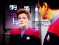 Janeway and Chakotay - Jealousy