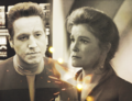 Janeway and Chakotay - star-trek fan art