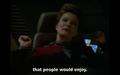 Janeway flirting with Chakotay #2