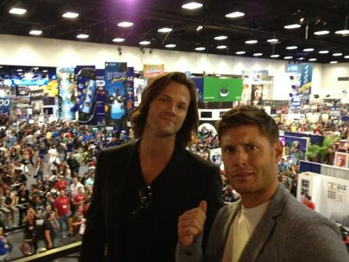 Jared & Jensen at Comic Con!