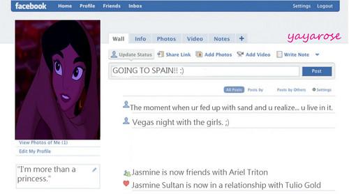 Jasmine's Facebook bista sa tagiliran