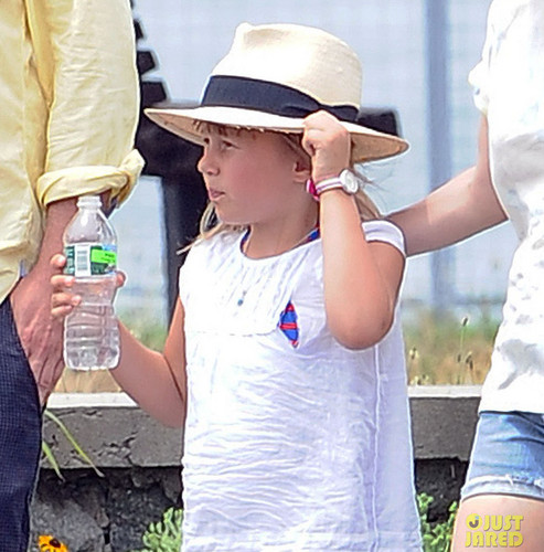 Jason Segel, Michelle Williams & Matilda - lunch time - (15.07.2012/Brooklyn)
