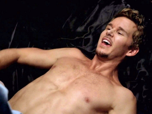 True Blood fond d'écran with a gros morceau, hunk and skin entitled Jason Stackhouse