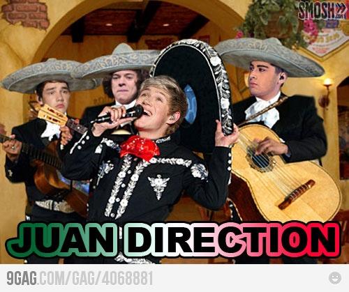 Jaun direction!
