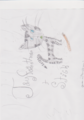 Jayfeather + Stick - warriors-novel-series fan art