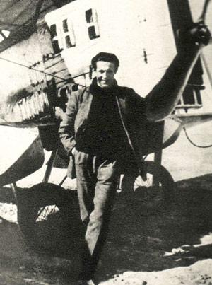 Jean Mermoz (9 December 1901, Aubenton, Aisne – 7 December 1936)