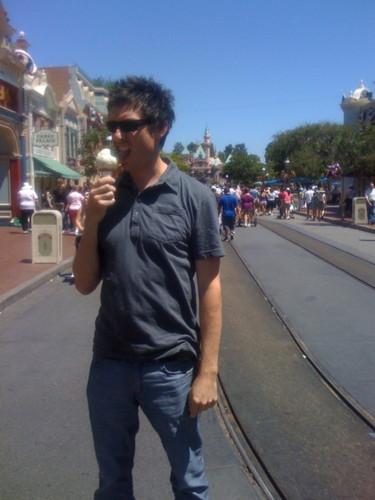 Jeff Eating Ice Cream