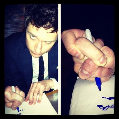 Jeff Signing