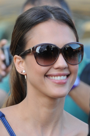 Jessica Alba at the 2012 Giffoni Film Festival [July 14]
