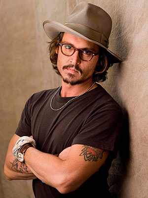 Johnny Depp wallpaper probably containing a fedora and a boater called Johnny