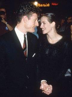 Julia Roberts and Lyle Lovett (1993 to 1995)