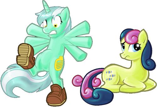 Just some Zufällig ponies.