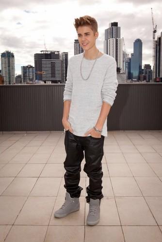 Justin Bieber in Australia , 2012