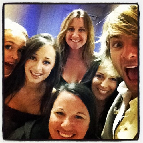 Keith & the ladies of Celtic Thunder