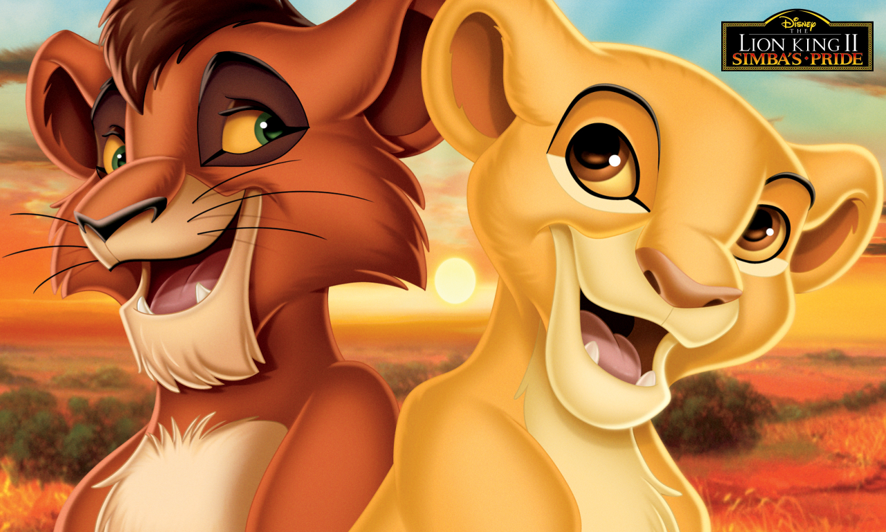 Kiara and Kovu Wallpaper - The Lion King 2:Simba's Pride ...