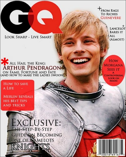 King Arthur: GQ Cover