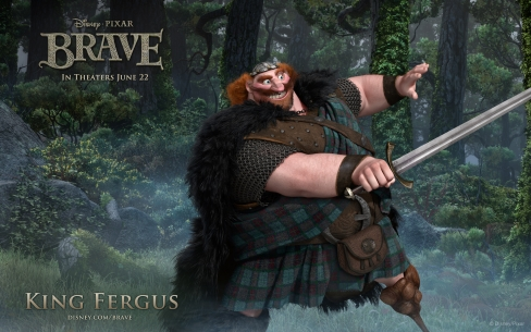 King Fergus the Great!
