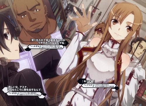 Kirito, Asuna and Andrew
