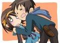 Kyon missed Haruhi!