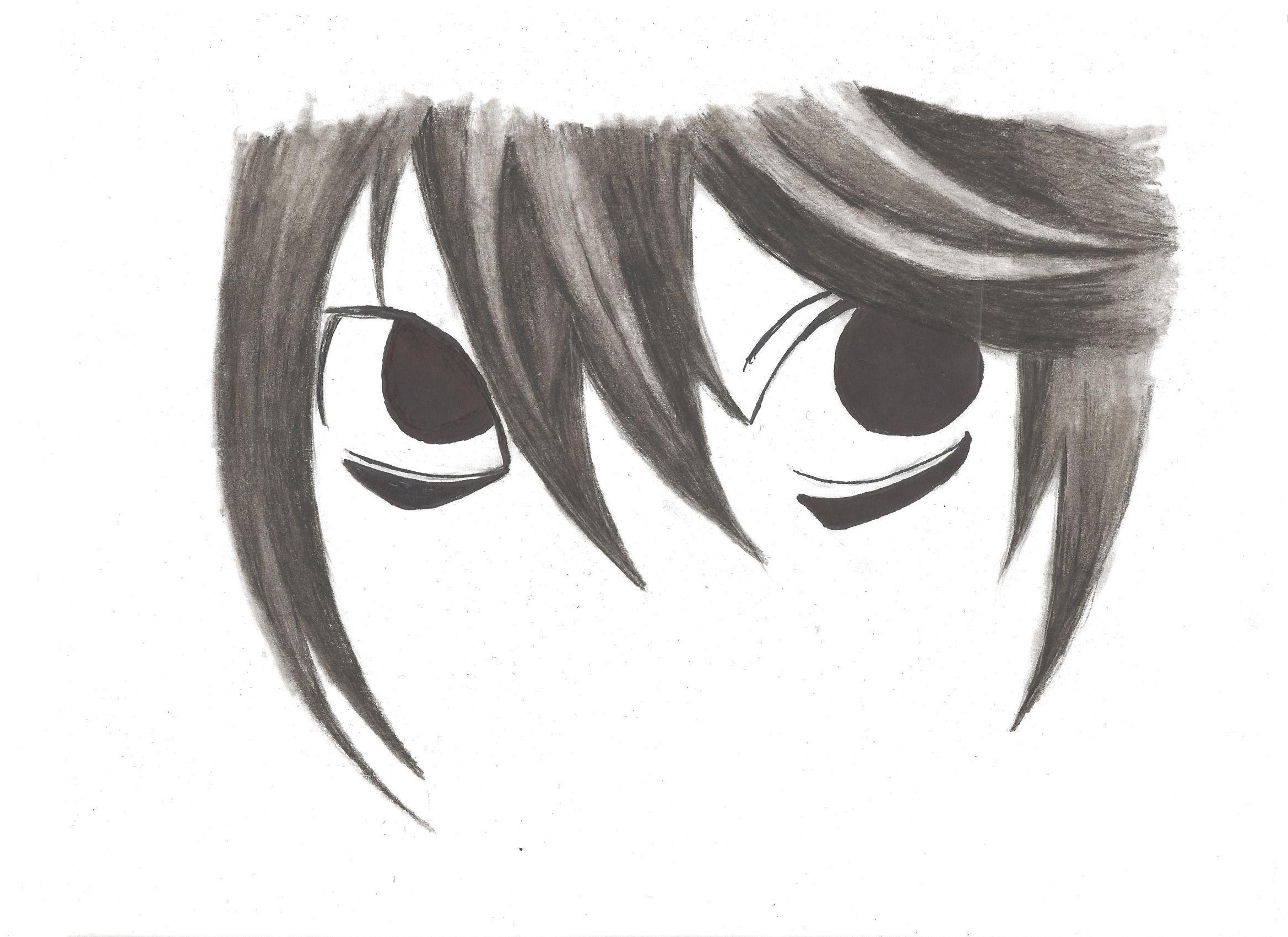 Drawing anime images ls eyes hd wallpaper and background photos