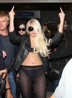 Lady Gaga Arriving at LAX Airport in Los Angeles (July 9th) - lady-gaga Photo