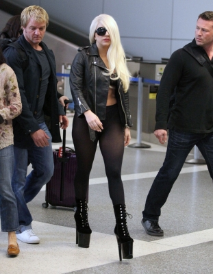 Lady Gaga images Lady Gaga Arriving at LAX Airport in Los Angeles (July 9th) wallpaper and background photos
