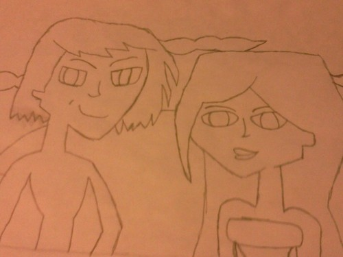 Lance and Sami(uncolored)