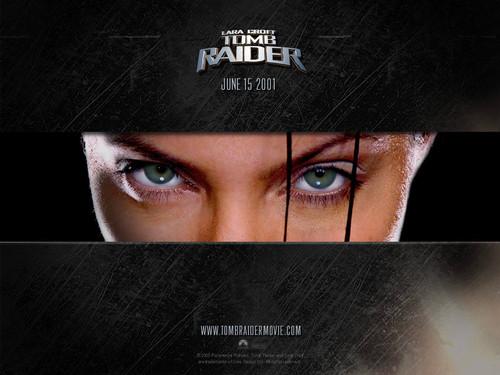 Lara Croft eyes