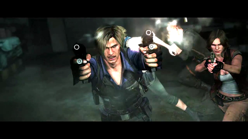 Resident Evil wallpaper possibly containing a concert called Leon in RE6