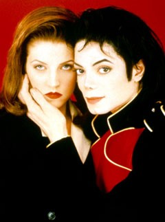 Lisa-Marie Presley and Michael Jackson (1994-1996)
