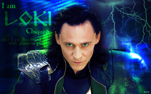 Tom Hiddleston wallpaper possibly containing a concert entitled Loki Wallpaper