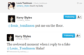 Louis/Harry Tweets - larry-stylinson fan art