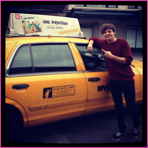 Celebrity Contests wallpaper containing a cab called Louis Tomlinson