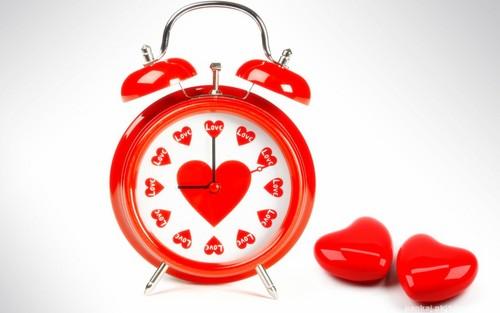 प्यार Clock