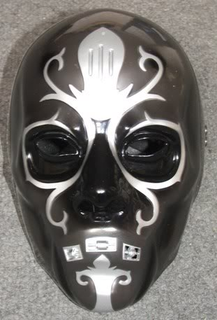 Lucius malfoys death eater mask