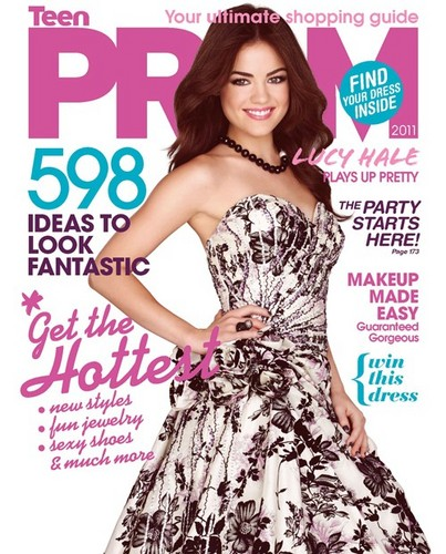 Lucy Hale Magazine cover