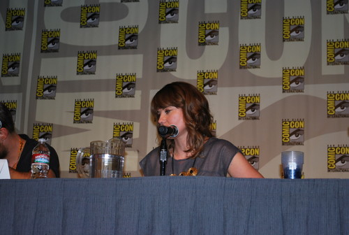 Lucy Lawless at Comic Con, San Diego 2012