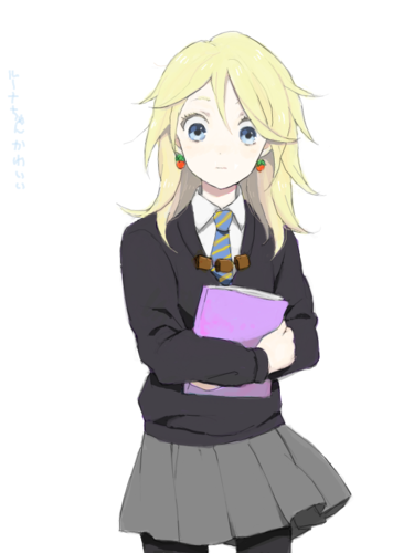 Harry Potter Anime wolpeyper titled Luna Lovegood