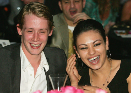 Macaulay Culkin and Mila Kunis (2002 to 2010)