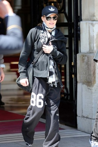 Madonna Heads To Her concert