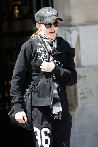 madonna Heads To Her concierto
