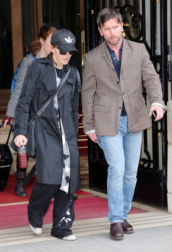 Madonna & Her Kids Head Out In Paris [July 12]