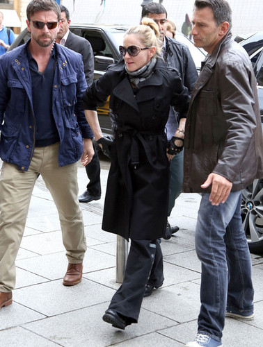 """madonna Takes David To """"We Are Revolution"""" Musical"""