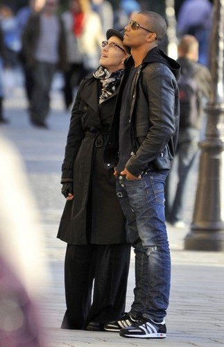 madonna and Brahim Zaibat Tour Notre Dame