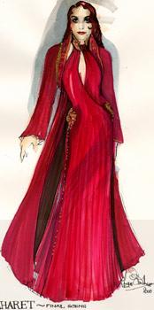 Maharet concept costume art